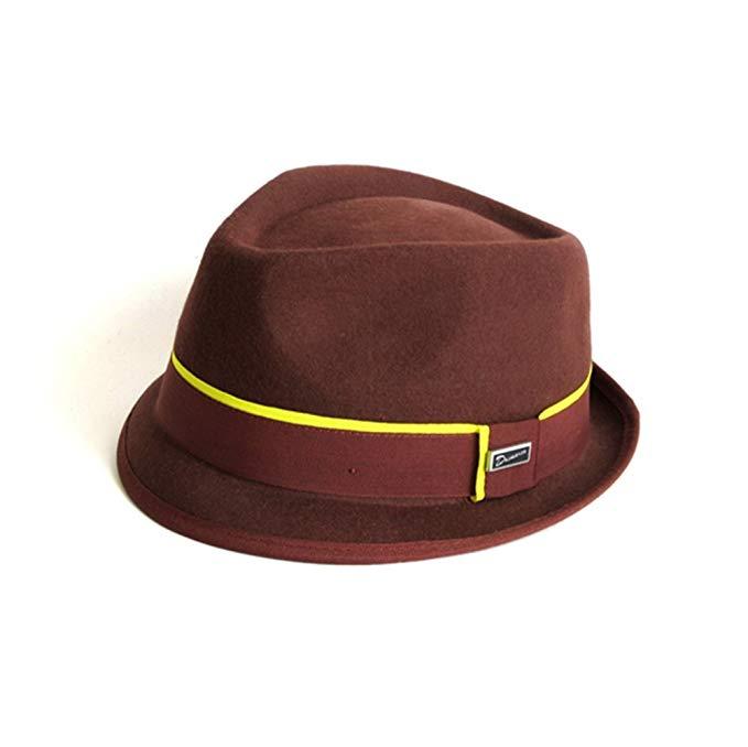 Dasmarca Mens Addison Wool Felt Trilby Hat