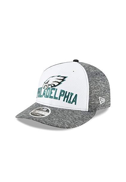 New Era Philadelphia Eagles Super Bowl Lii Opening Night Low Profile 9FIFTY Snapback Adjustable Hat – White/Heather Gray