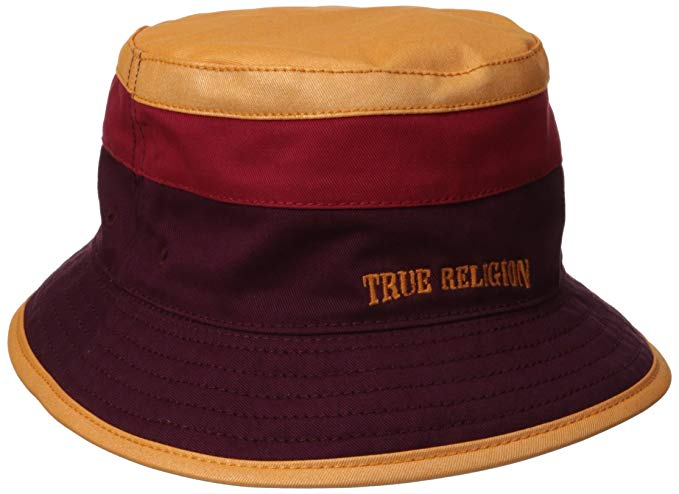 True Religion Men's Rev Colorblocked Bucket